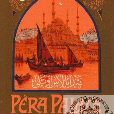 WL Péra palace Constantinople