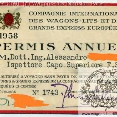 Wl permis circulation 1958 1