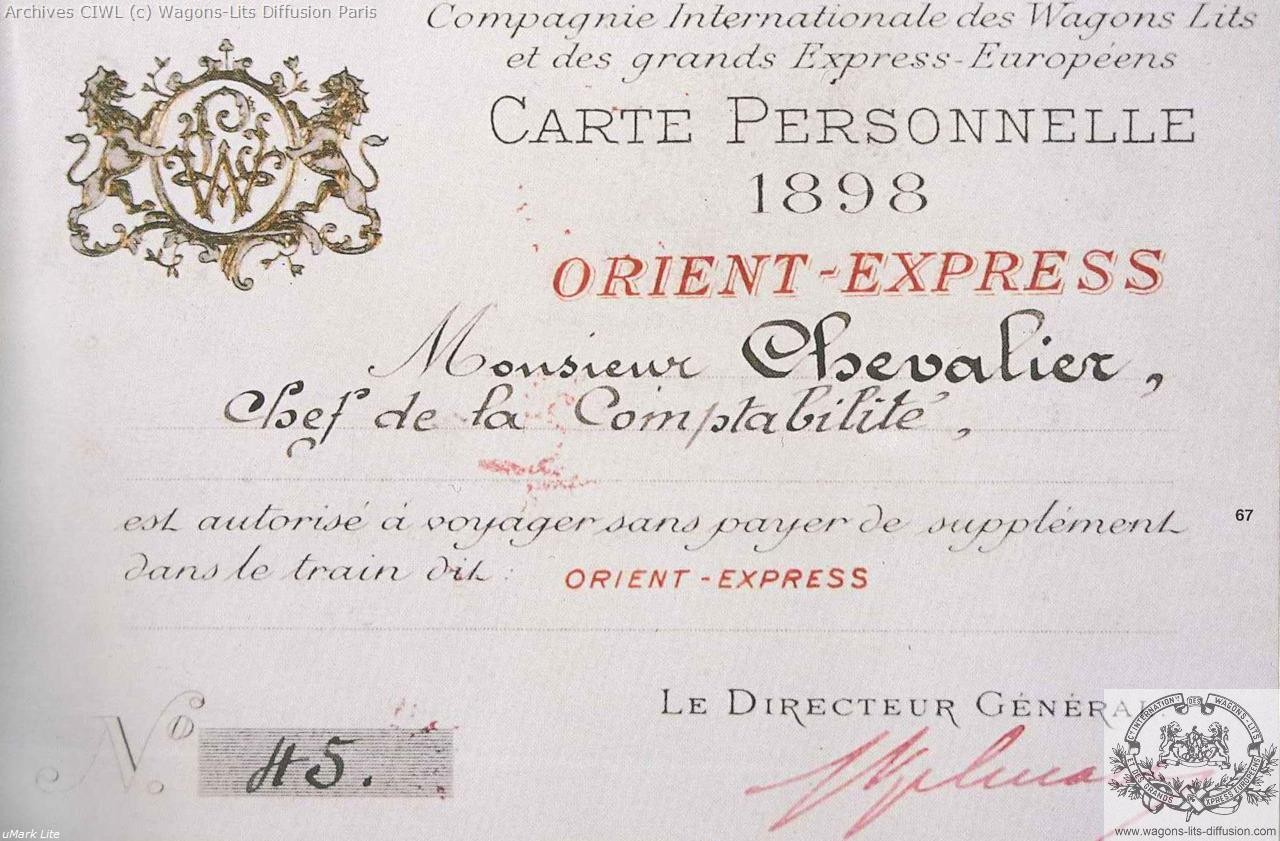 Wl permis de circulation mr chevalier 1898