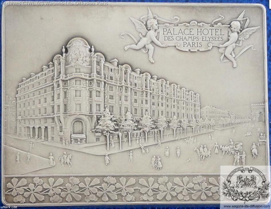 Wl plaque commemorative palace hotel paris 1899 verso 1