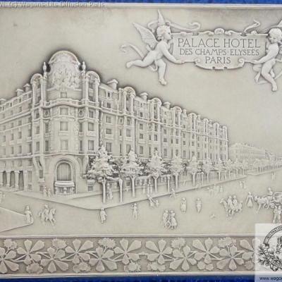 Wl plaque commemorative palace hotel paris 1899 verso 1
