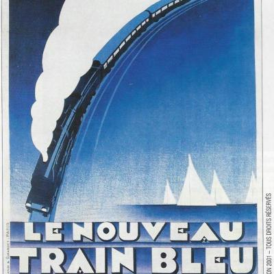 WL PLM nouveau Train Bleu 1928
