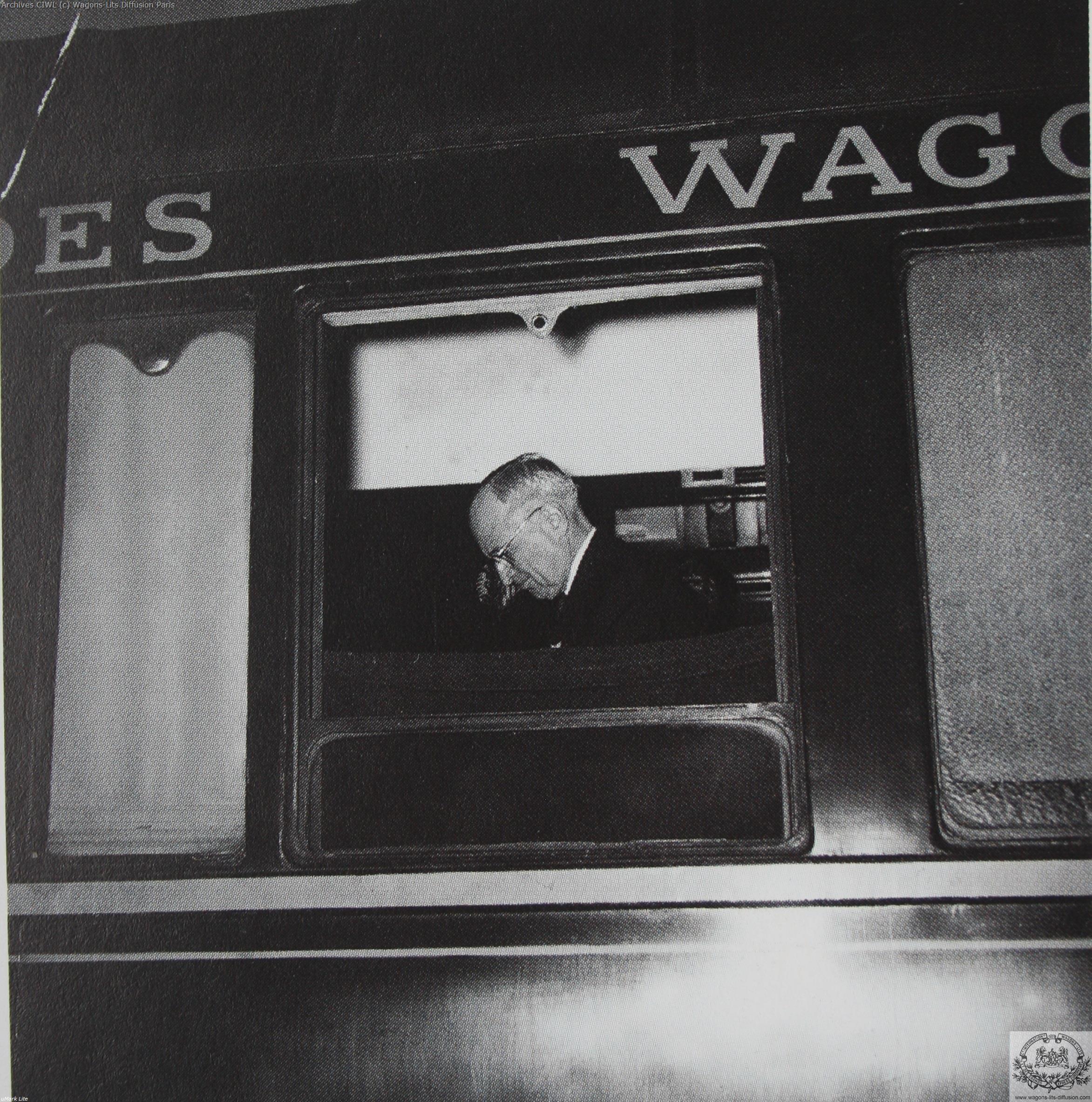 Wl president harry truman sur le train bleu 2