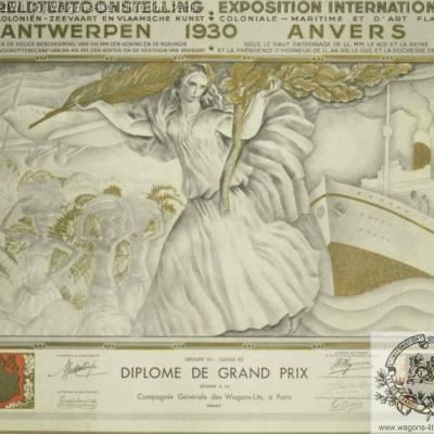 Wl prix expo univ anvers 1931