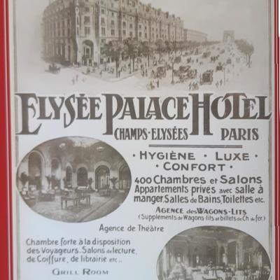 Wl pub elysees palace hotel paris 1900