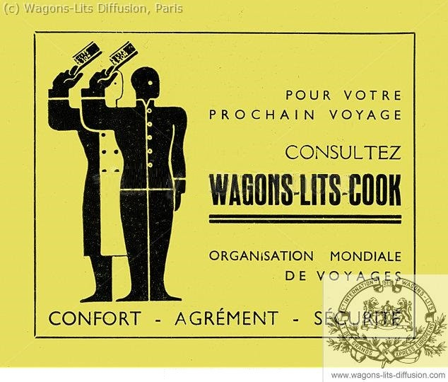 Wl pub wagons lits cook 1938