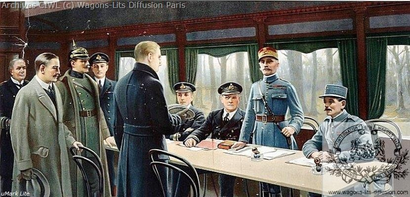 Wl rethondes armistice 1918