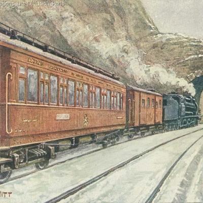 Wl rome vienne express vers 1910