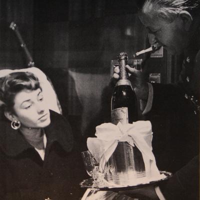 Wl service champagne en cabine