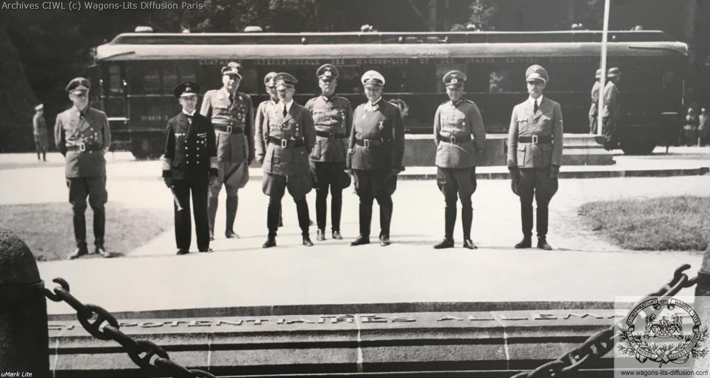 Wl signature armistice 1940 vl 2419 hitler et etat major allemanf