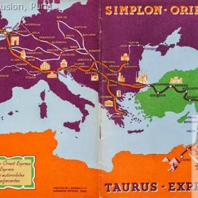 WL Simplon-Orient-Express et taurus Express, 1931