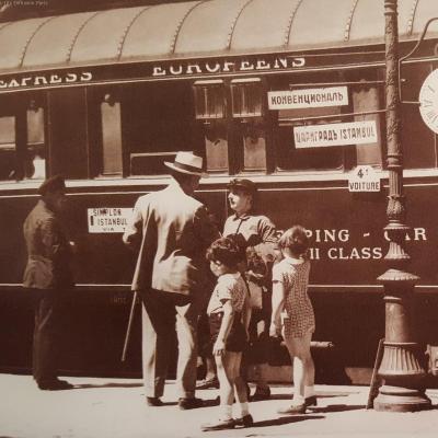 Wl simplon orient express vers 1930