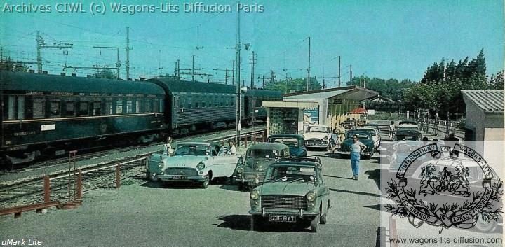 Wl train auto 1966