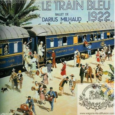 WL Train Bleu Darius Milhaud Brenet