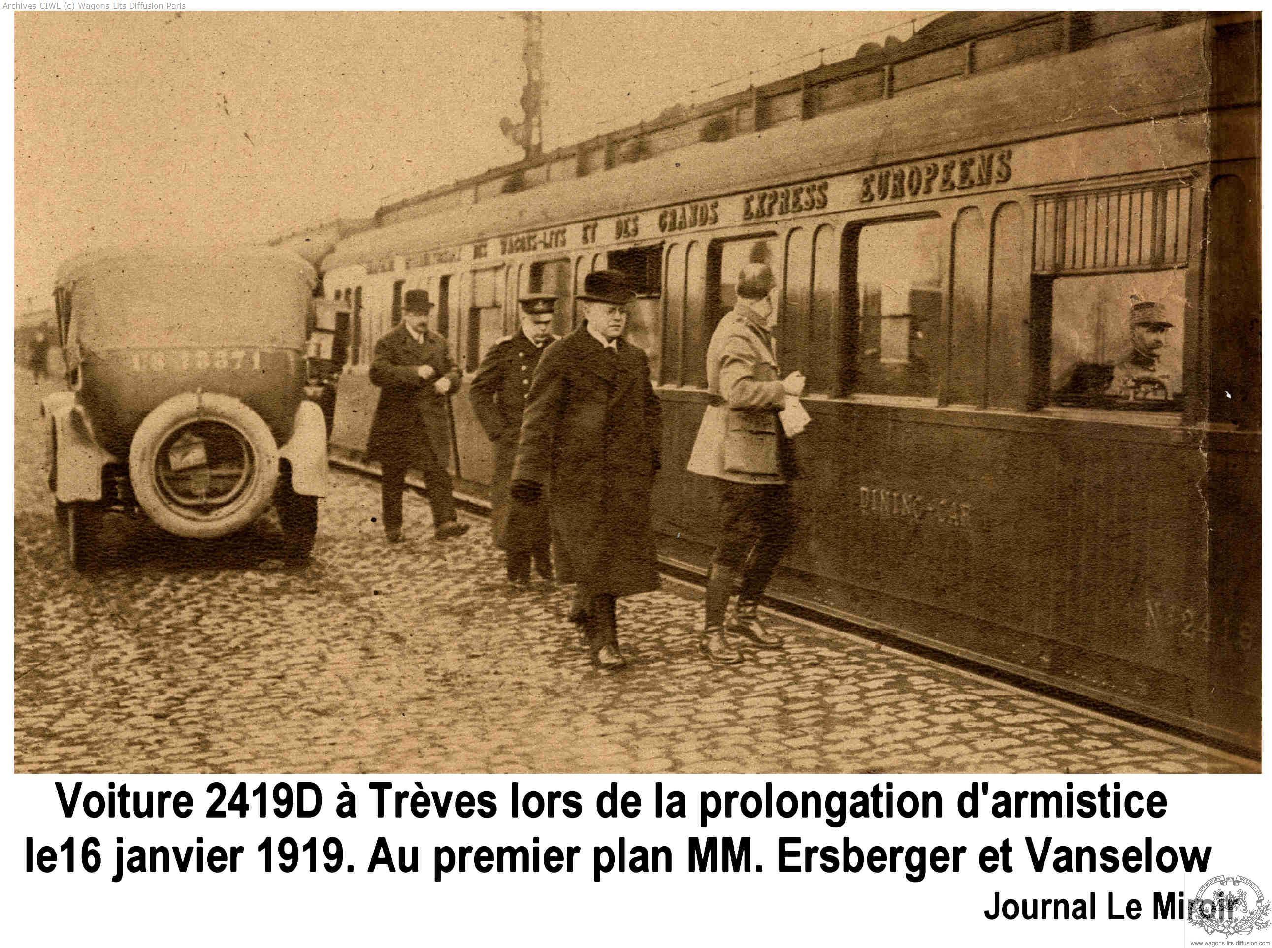 Wl voiture 2419 armistice 2