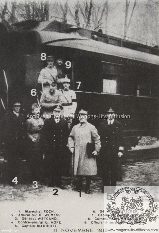 WL Voiture 2419 armistice Maréchal Foch 1918