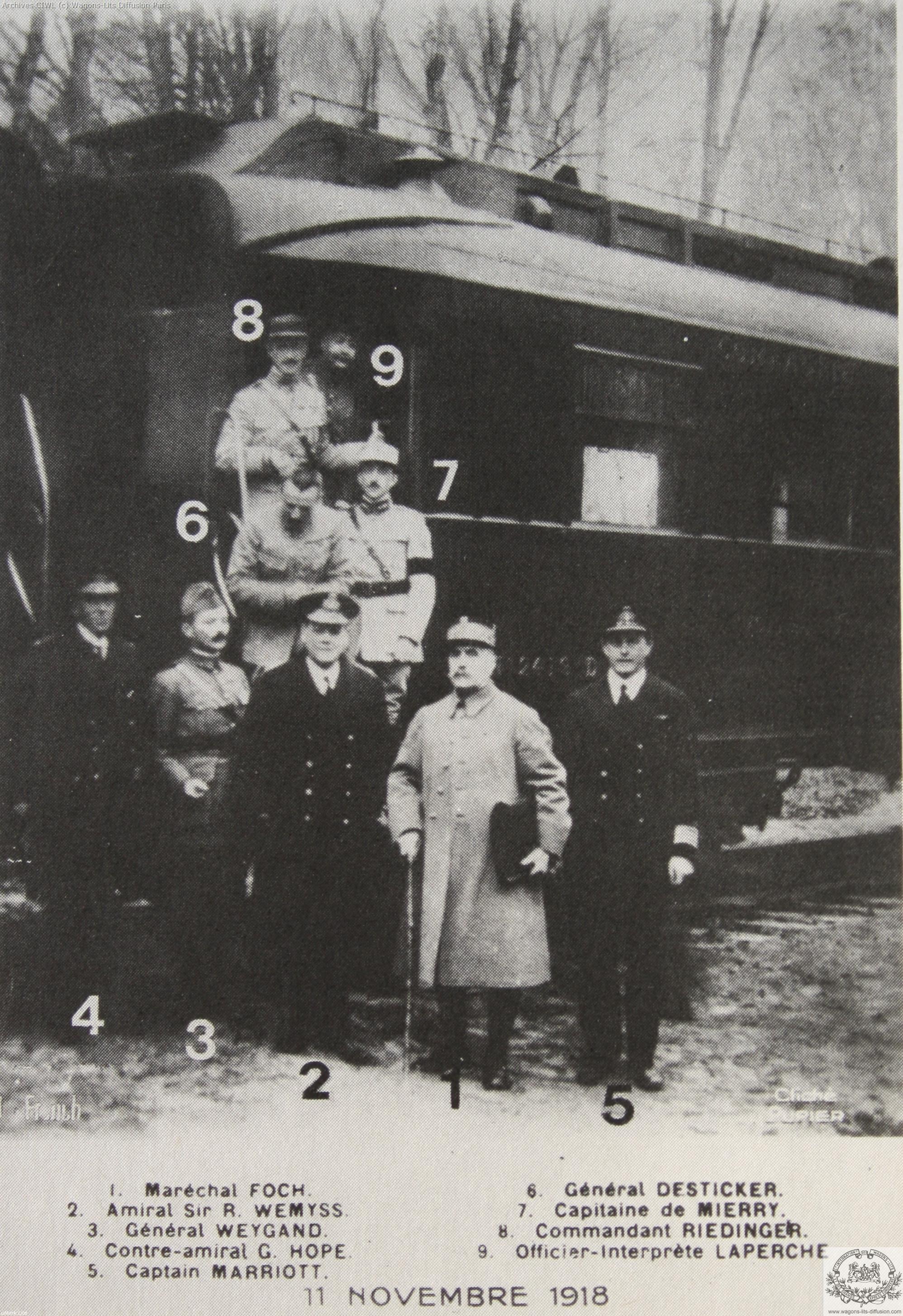 Wl voiture 2419 armistice marechal foch 1919