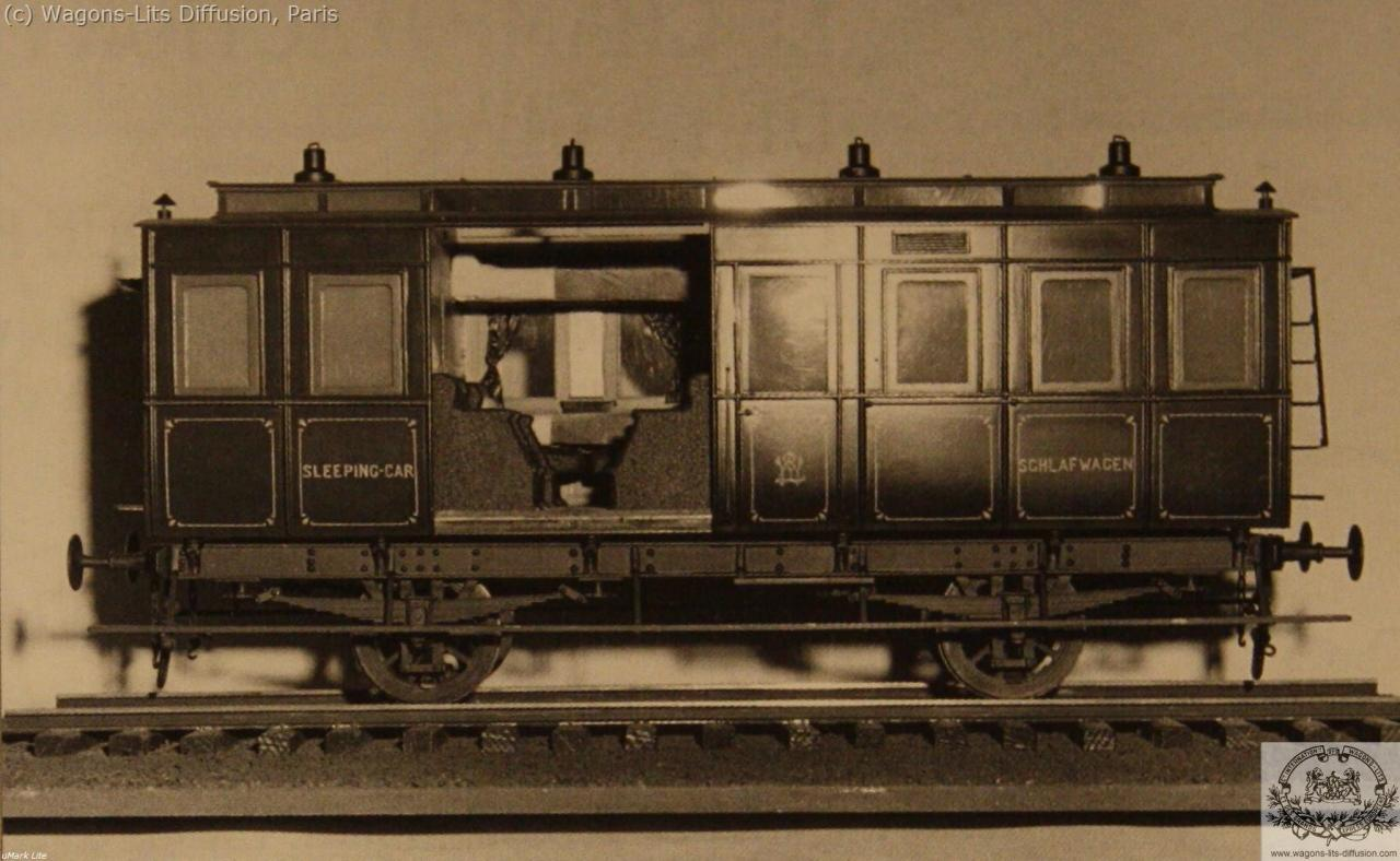 WL Voiture-Lit No 3 1873