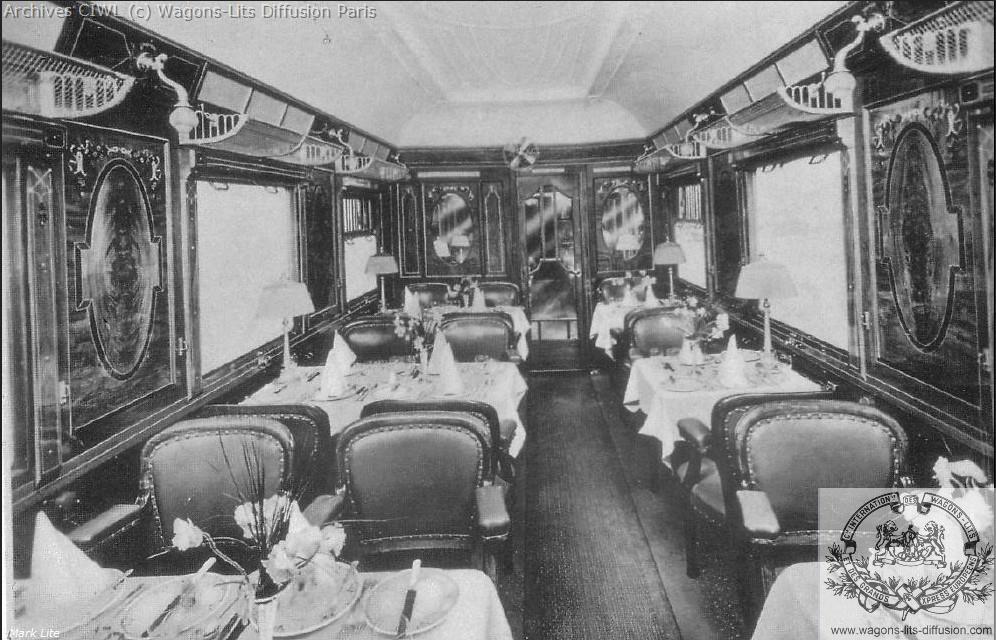 Wl voiture restaurant 1901