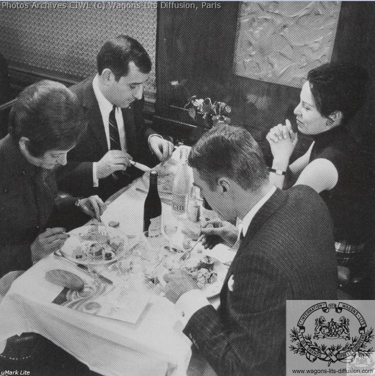 Wl voiture restaurant lalique 1950 photo pub