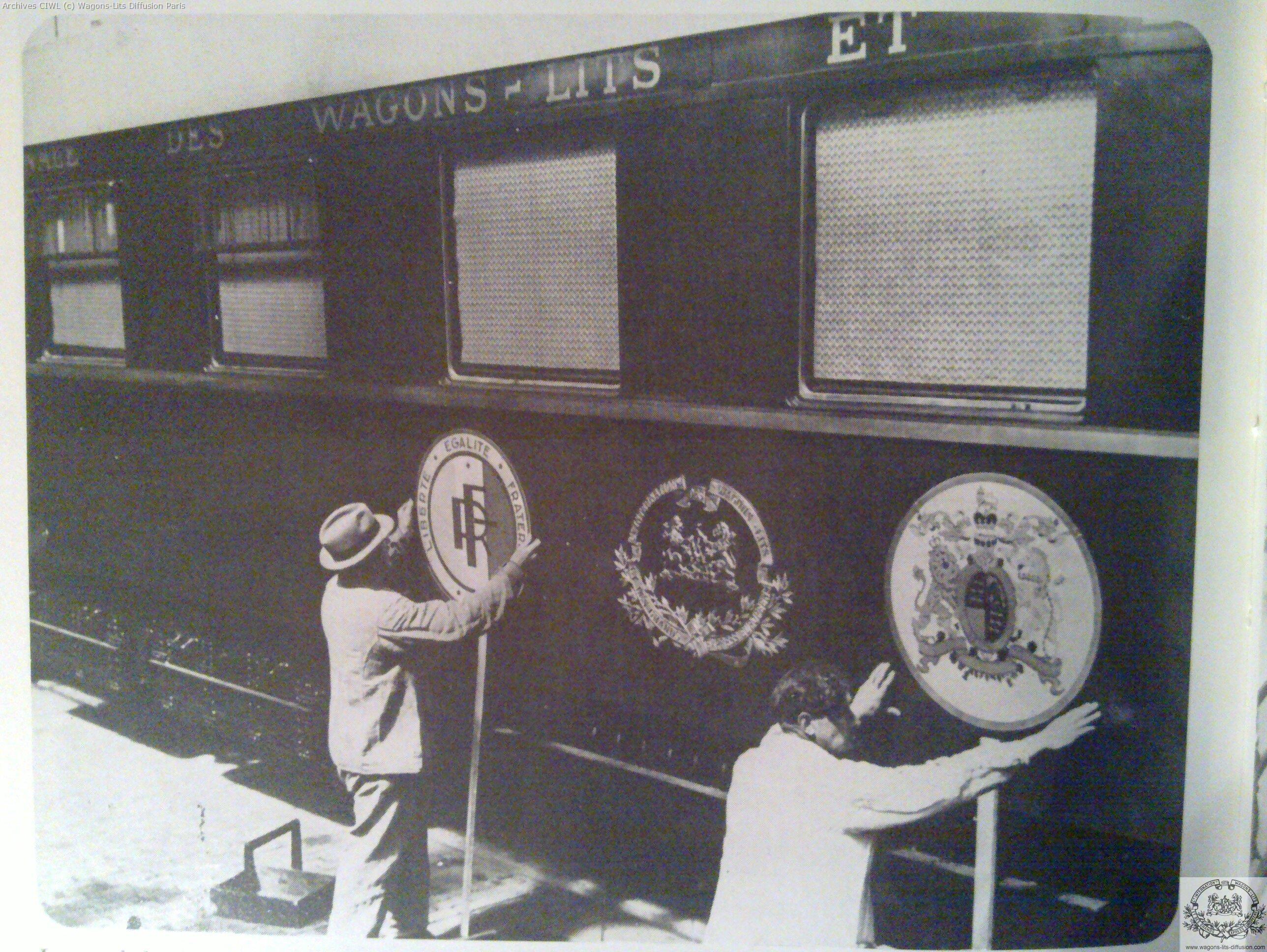 Wl voyage de georges i en 1938