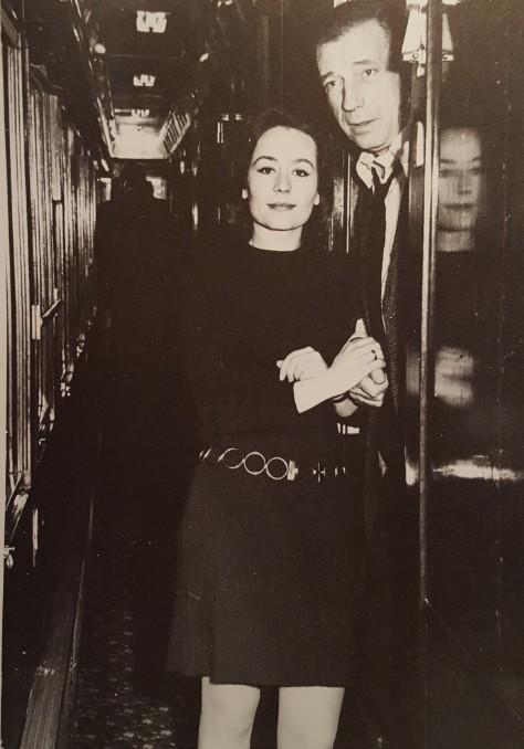 WL Yves Montand Annie Girardot